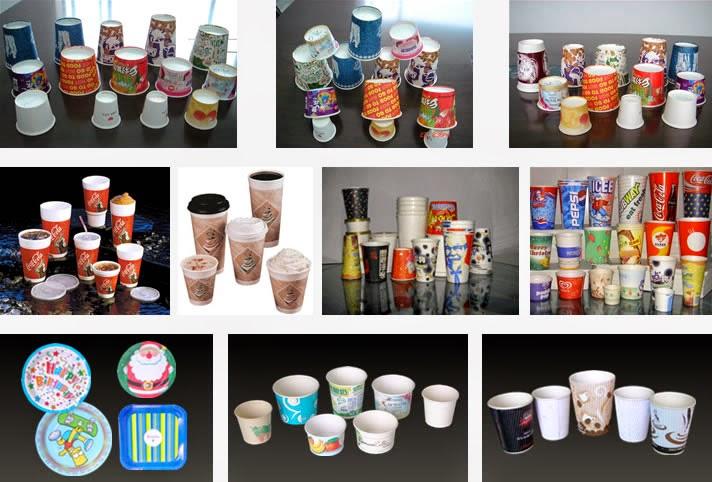 Sản xuất và cung cấp các mặt hàng cốc, tô giấy